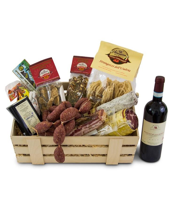 Confezione regalo San Benedetto Norcia in tavola