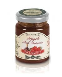 Composta di Fragole e Aceto Balsamico