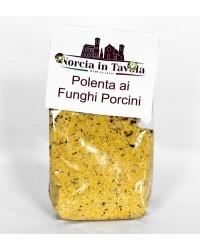 Polenta con Funghi Porcini - Norcia in Tavola