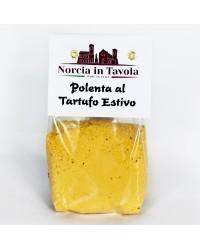 Polenta con Tartufo estivo di Norcia - Norcia in Tavola