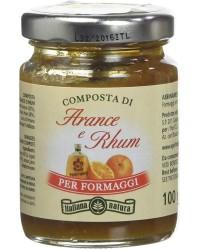 Composta di Arance e Rhum, per formaggi