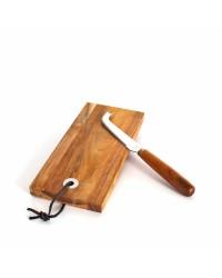 Set Tagliere e Coltello in legno